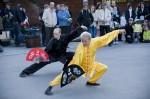 Jigotain taiji-näytös Alvarin aukiolla vuonna 2009. Kuva: Risto Aalto/Keskisuomalainen