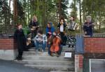 Lada Nuevo harjoittelee ennen keikan alkua, Kuva: Mikko Issakainen